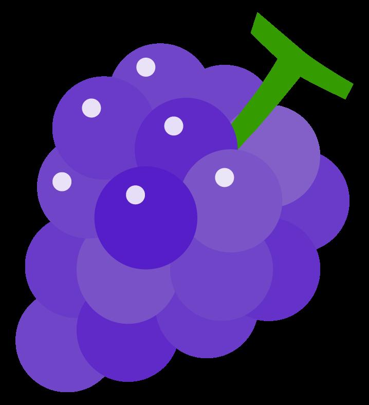 ぶどう(葡萄)のイラスト