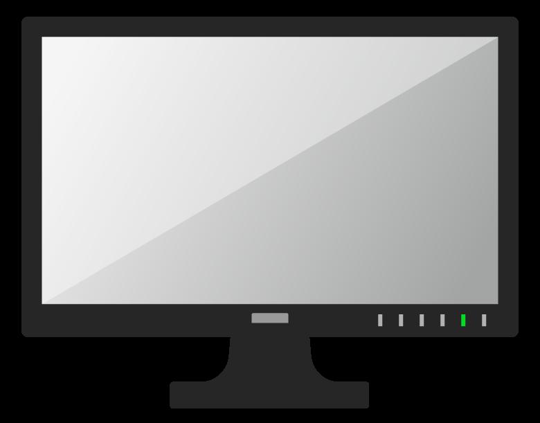 パソコンなどのモニターのイラスト02