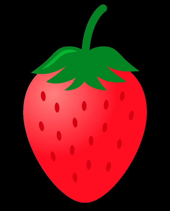 いちご(苺)のイラスト