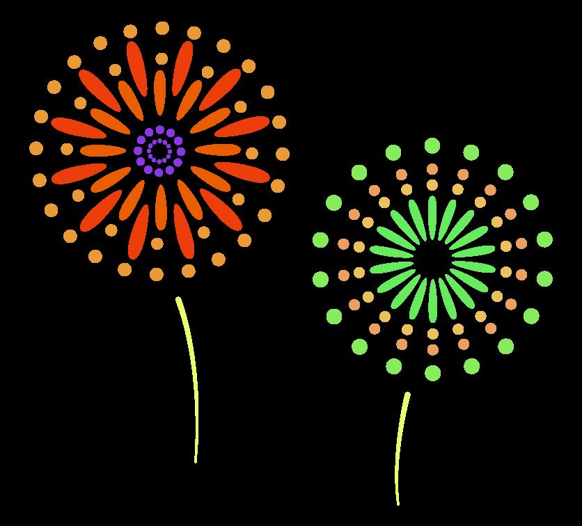 花火のイラスト