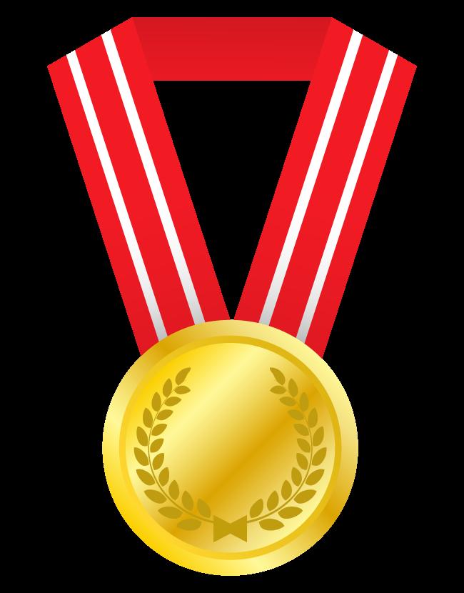 金メダルのイラスト