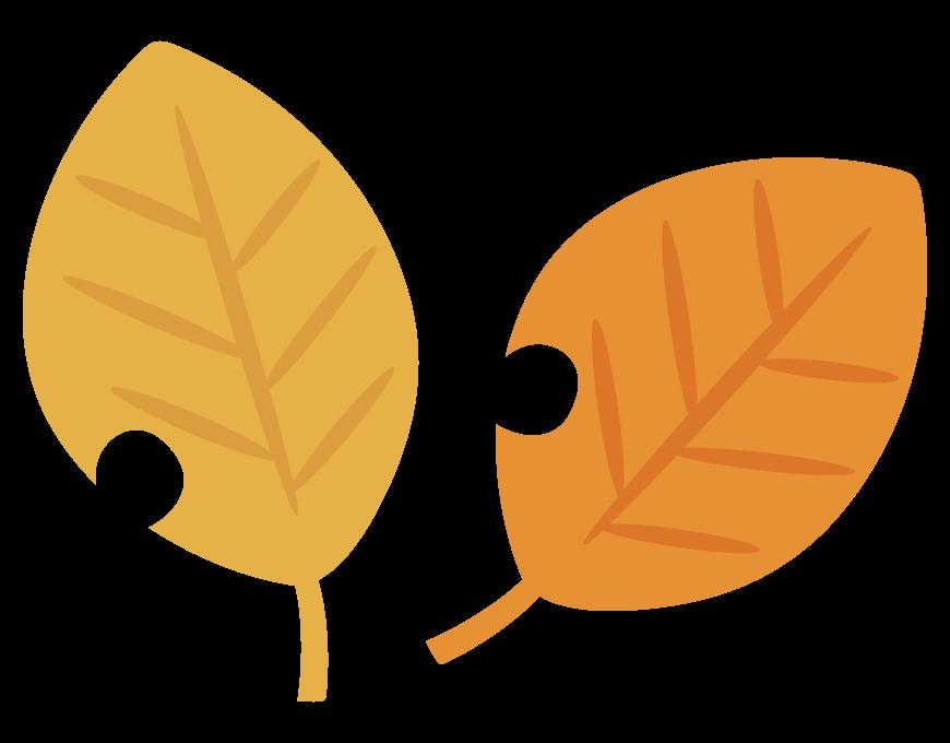 紅葉・枯葉のイラスト