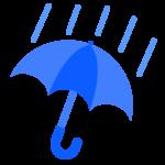 天気・雨のイラスト