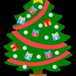 クリスマスツリーのイラスト02