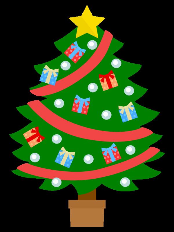 ツリー クリスマス イラスト 無料