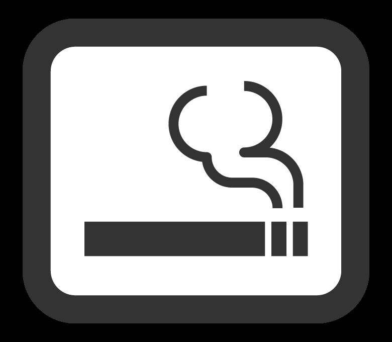 喫煙所マークのイラスト