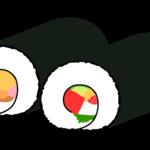 恵方巻・太巻きのイラスト