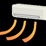 エアコン(暖房)のイラスト