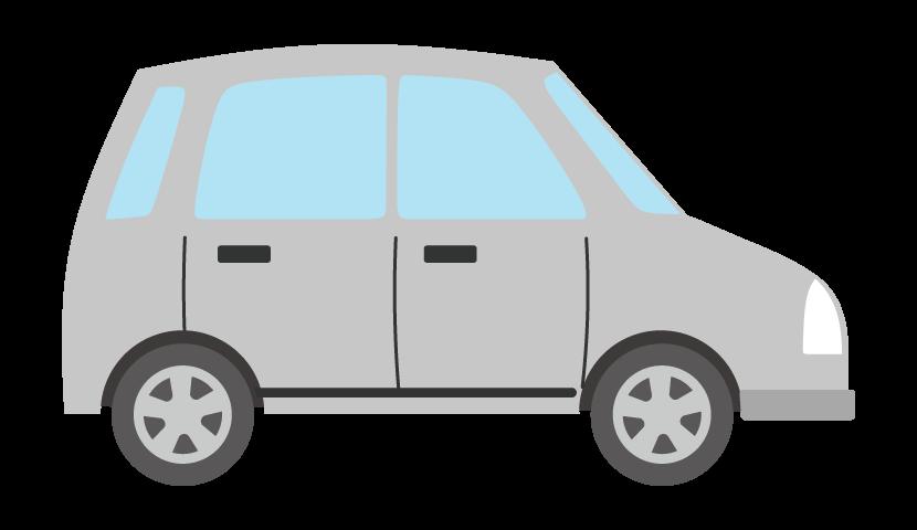 車(横アングル)のイラスト