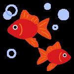 金魚のイラスト