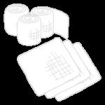 包帯とガーゼのイラスト02