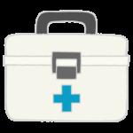 白い救急箱のイラスト