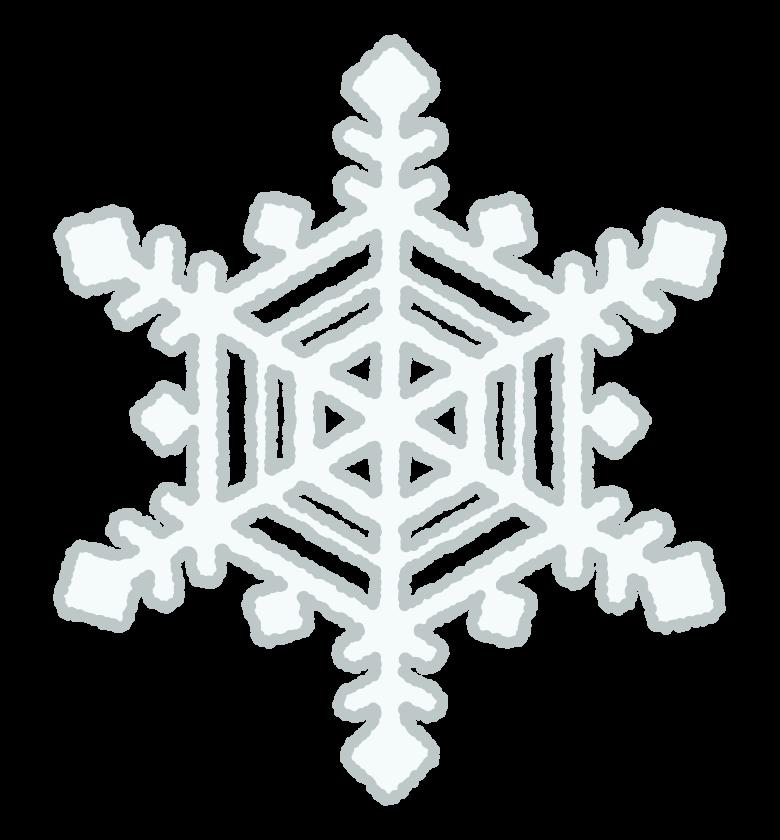 雪の結晶のイラスト03