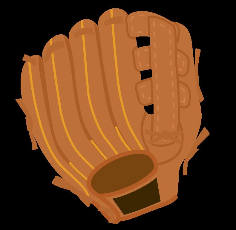 野球・グローブのイラスト
