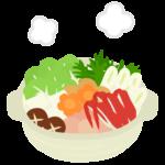 鍋料理のイラスト