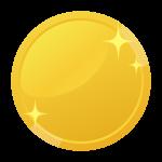 金貨・コインのイラスト