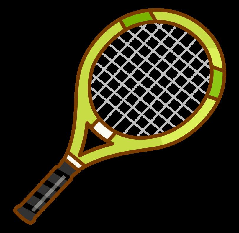 テニスラケットのイラスト02