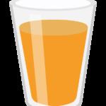 オレンジジュースのイラスト