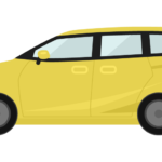 車・ミニバンのイラスト