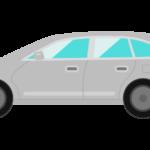 車・ステーションワゴンのイラスト02