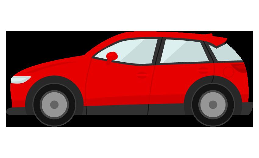 車・SUVのイラスト
