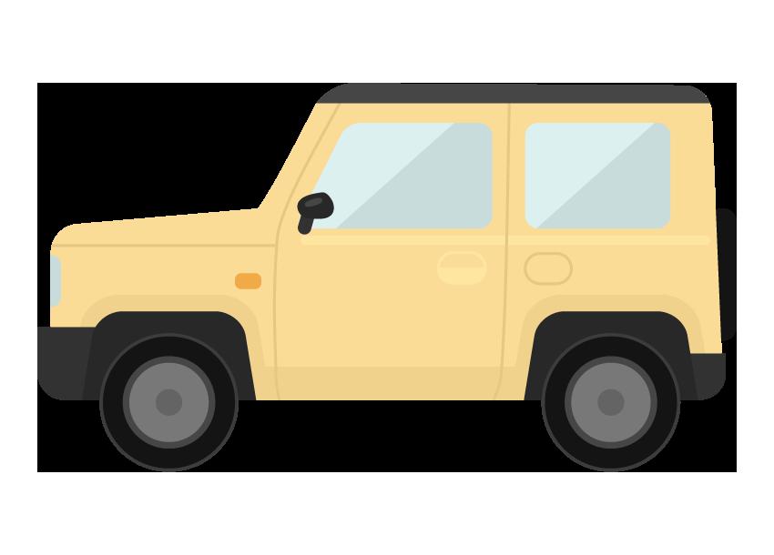 4WD・SUVのイラスト