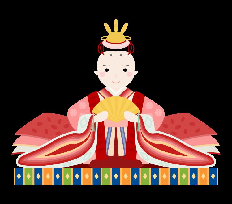 ひな祭り・お雛様のイラスト