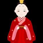 ひな祭り・かわいいお雛様のイラスト