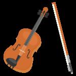 ヴァイオリンのイラスト
