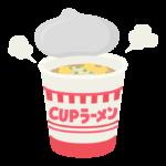 カップラーメンのイラスト