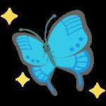 蝶々のイラスト
