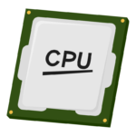 CPUのイラスト