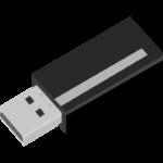 USBメモリーのイラスト