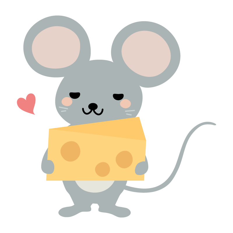 「ネズミのイラスト」の画像検索結果