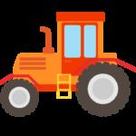 トラクターのイラスト