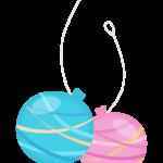 夏祭り・水風船のイラスト