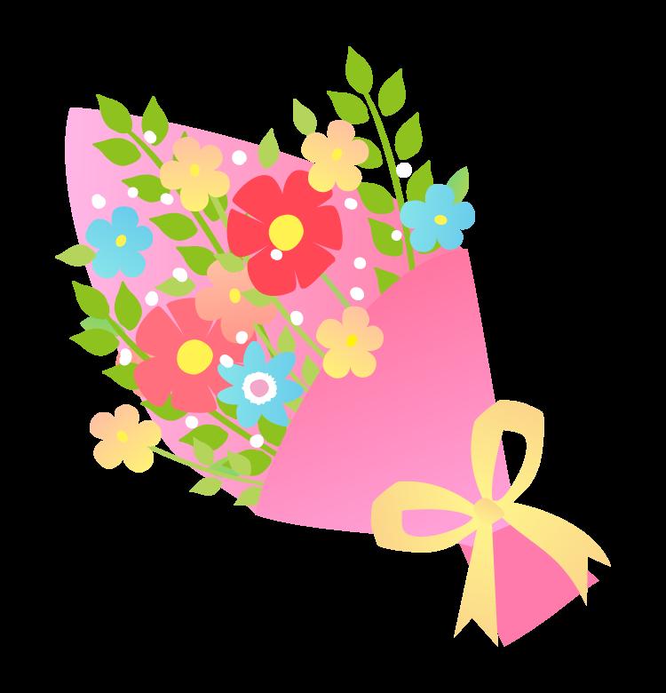 プレゼント・花束のイラスト