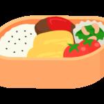 手作り弁当のイラスト
