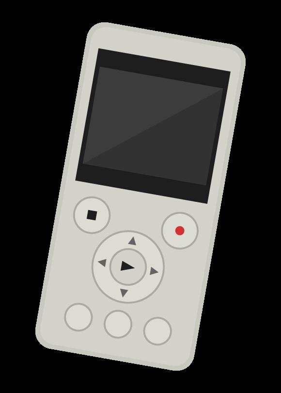 ボイスレコーダーのイラスト02