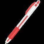 ボールペン(赤色)のイラスト