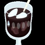 カフェ・アイスコーヒーのイラスト