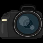 カメラ・一眼レフのイラスト