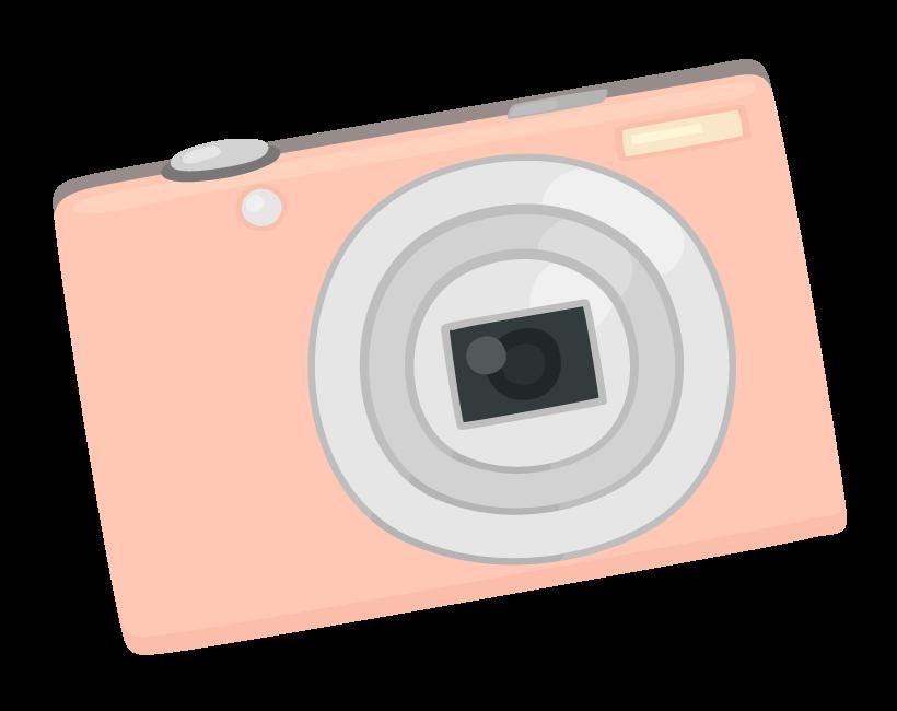 コンパクトデジタルカメラのイラスト