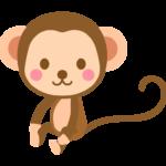 かわいい猿のイラスト