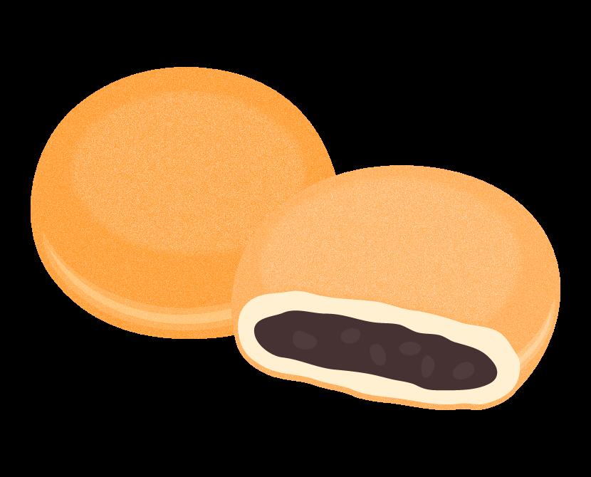 あんドーナツのイラスト