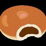 菓子パン・あんぱんのイラスト