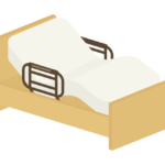 介護ベッドのイラスト02