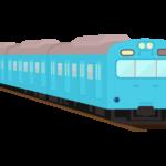 ローカル電車のイラスト