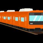 ローカル・通勤電車のイラスト