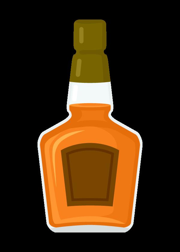 ウイスキー・スコッチのイラスト